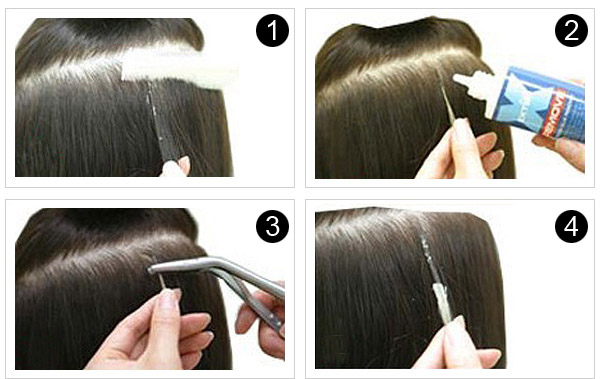How To Remove Nail Tip Hair Extensions