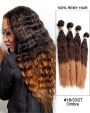 water wave ombre remy hair