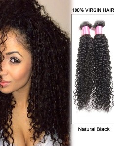 natural black kinky curly indian virgin hair weave weft human extensions also rh feshfen