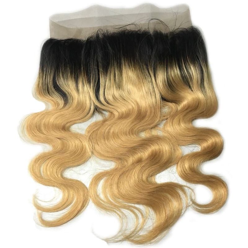 16 1B27 Ombre Brazilian Remy Hair 130 Density Body Wave