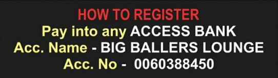 How to Register for Big Ballers Dance Festival