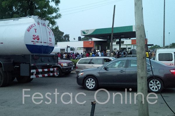 2 Dead ,1 Injured At Forte Oil Station 21 Road Festac Town.
