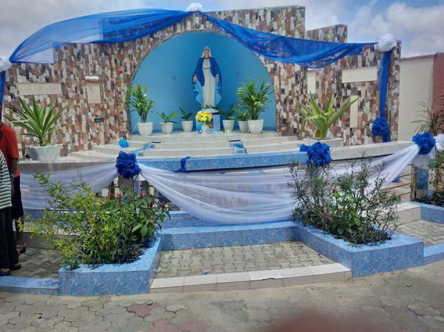Dedication Of Newly Built Catholic Church Of Visitation Festac (2)