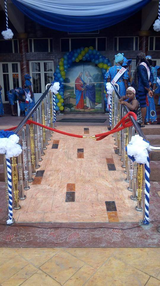 Dedication Of Newly Built Catholic Church Of Visitation Festac (7)