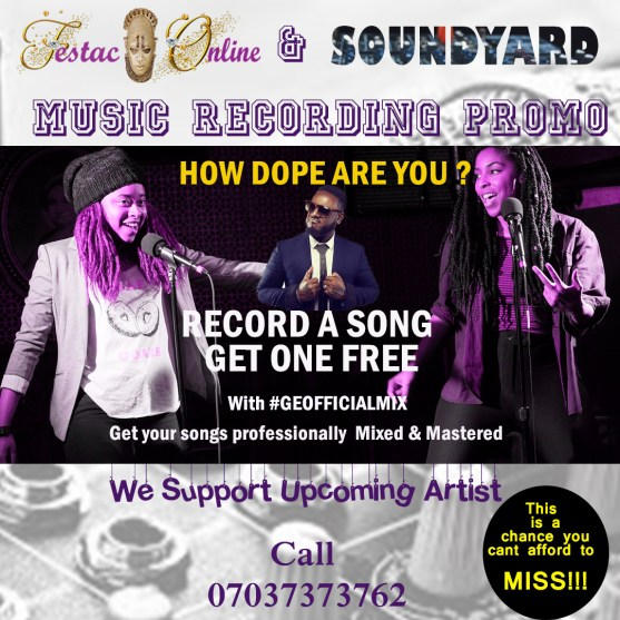 soundyard music recording promo