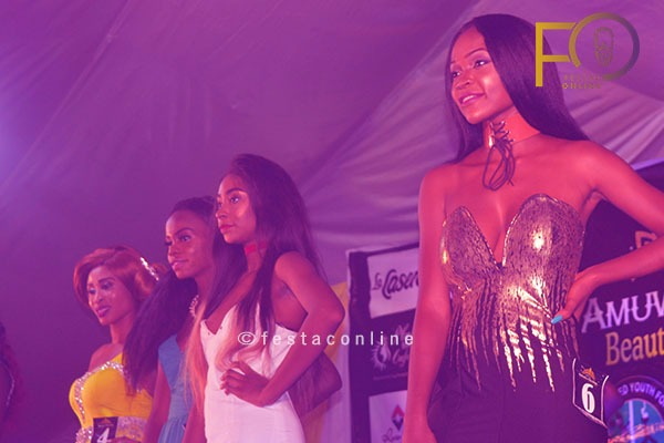 Contestants at the Final Stage At Face of Amuwo Odofin Beauty Pageant