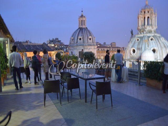 Terrazza Civita  Festa di laurea Roma