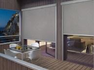 Scegli un'opzione bianco tipo legno. Chiusure Per Esterni In Pvc Tende In Pvc Avvolgibili Invernali