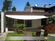 Axt shade tenda a vela impermeabile triangolare 3x3x3m, parasole e protezione raggi uv, per esterni, cortile, giardino, colore crema. Tende Da Sole A Vela Tende Ombreggianti Per Esterno Da Giardino