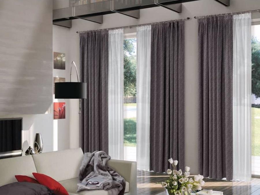 Elemento determinante nell'aspetto estetico degli ambienti, le tende da soggiorno. Tende Tendaggi Tende Per Interni Tende Soggiorno