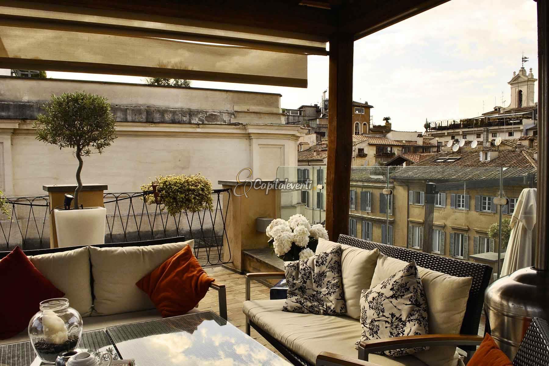 Festa 18 anni Terrazza Roma  347 1167581