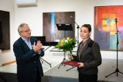 Eger város díja - Nádas Alexandra festőművész