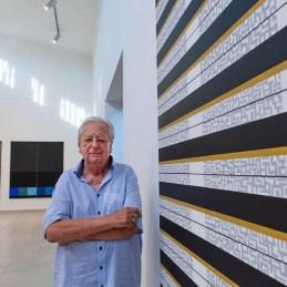 2008 Konok Tamás A Nemzet Művésze címmel kitüntetett, Kossuth Lajos-díjas magyar festő- és szobrászművész