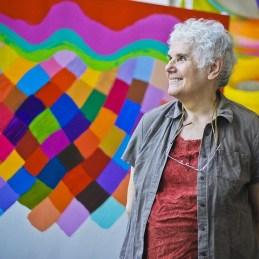 2013 Ilona Keserű Ilona A Nemzet Művésze címmel kitüntetett, Kossuth Lajos-díjas, Munkácsy Mihály-díjas festőművész