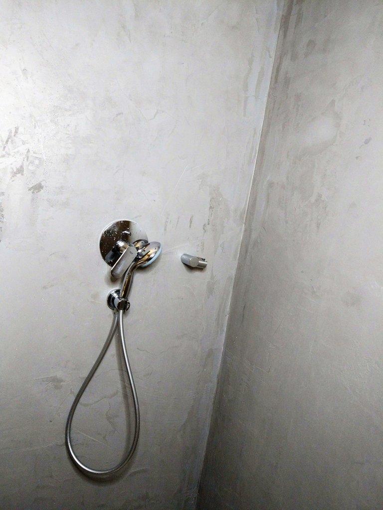 Betonowy Tynk Dekoracyjny W łazience Czy Jest Wodoodporny