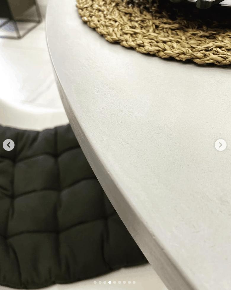 stół z betonu