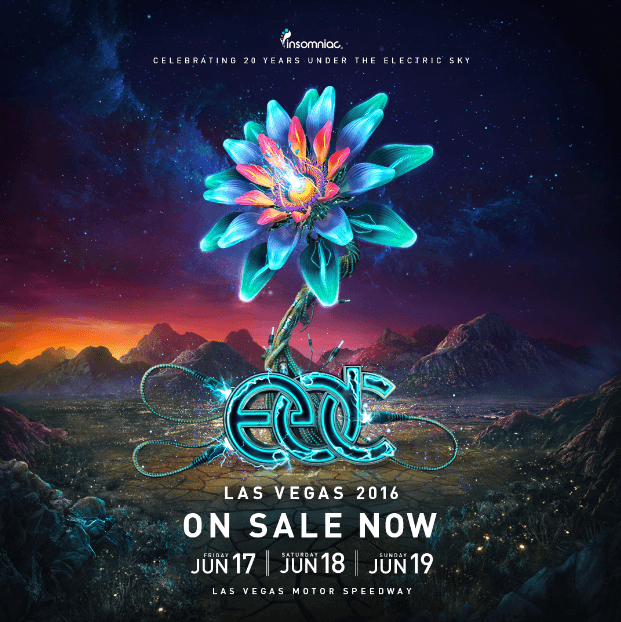Tickets On Sale Now For Electric Daisy Carnival Las Vegas - Edc las vegas map 2016