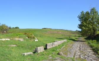 Un'antica stazione di sosta sulla via Tiburtina