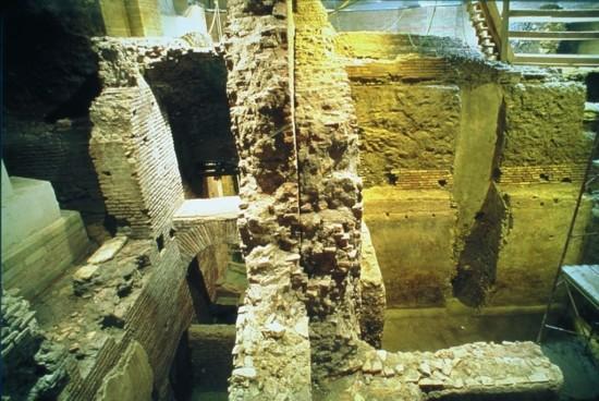 area archeologica vicus caprarius