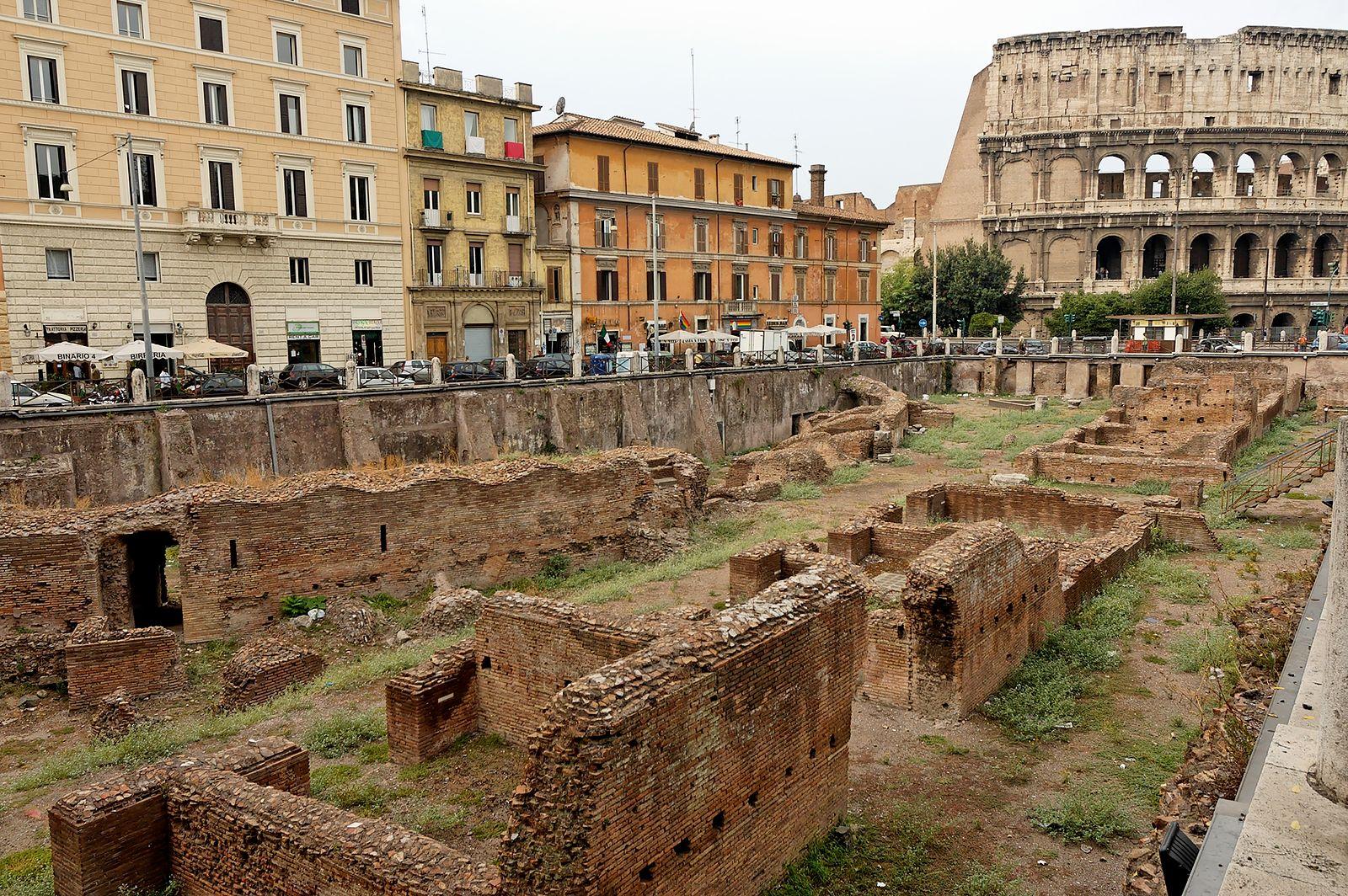 APERTURA SPECIALE - La palestra dei gladiatori: il Ludus Magnus