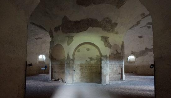 mausoleo di romolo interno