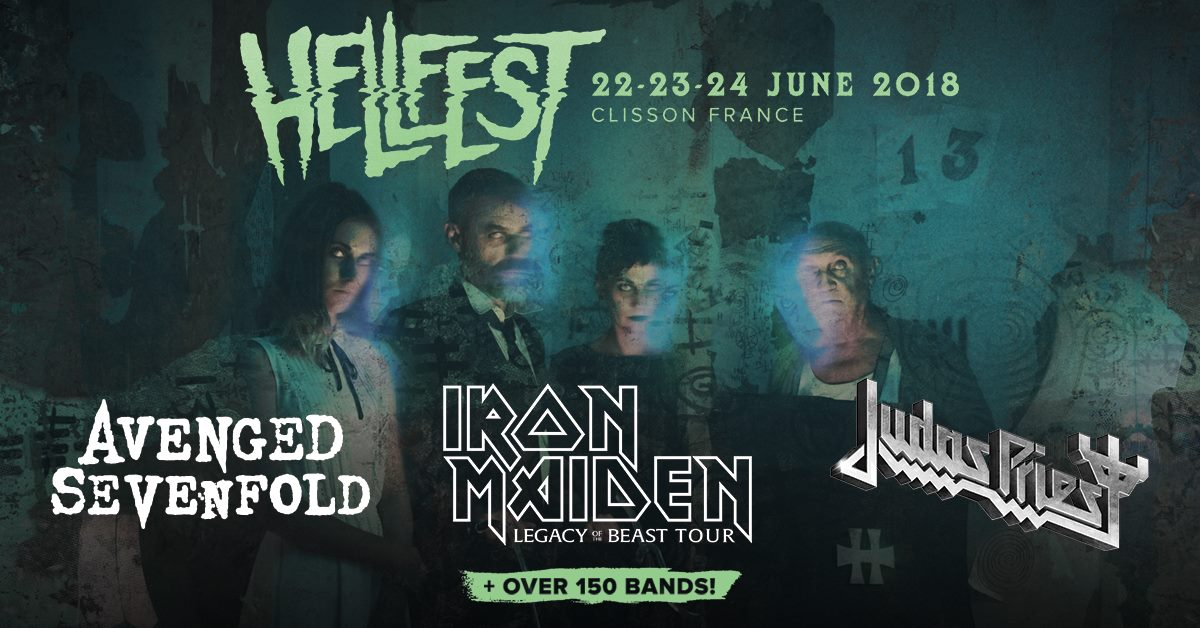 Hellfest Open Air Festival 2018