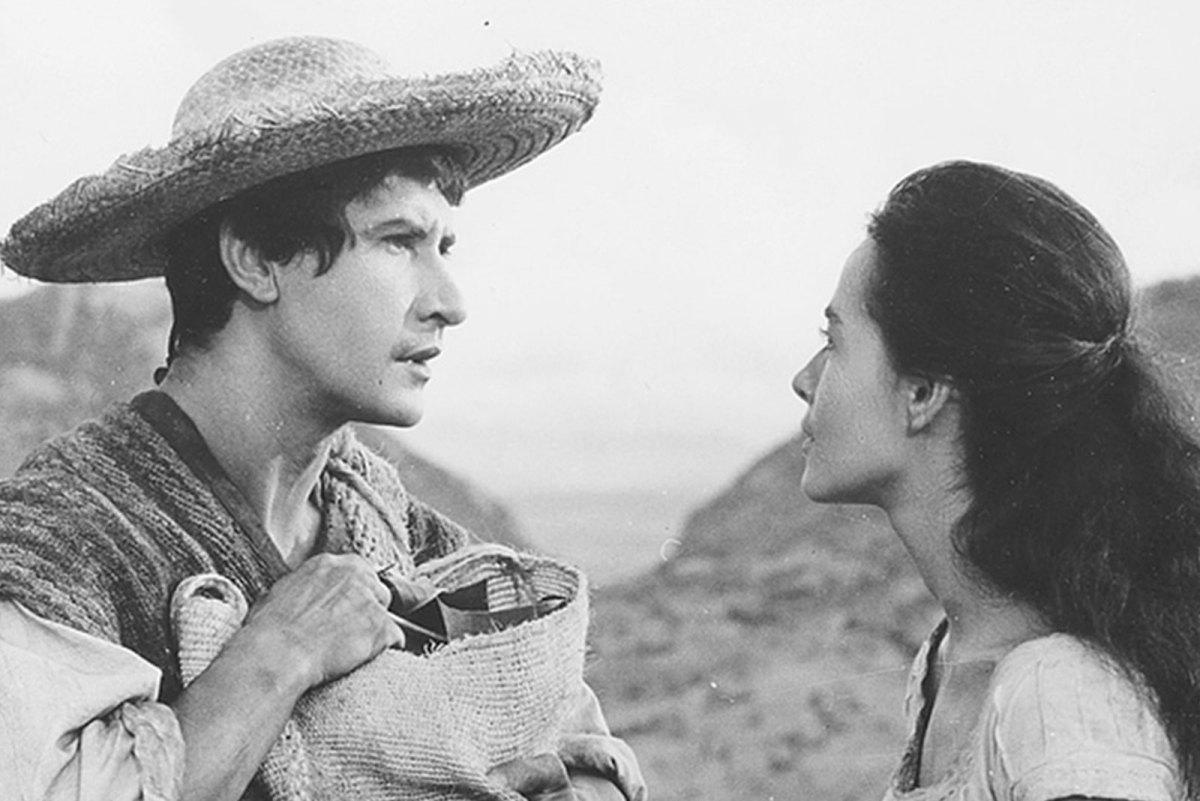 Macario y su esposa en la cinta Macario de 1960