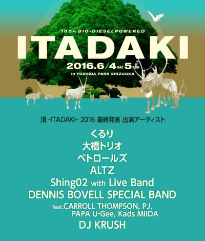 待望のくるり出演決定!「頂-ITADAKI-」最終となる第4弾出演アーティストを発表!
