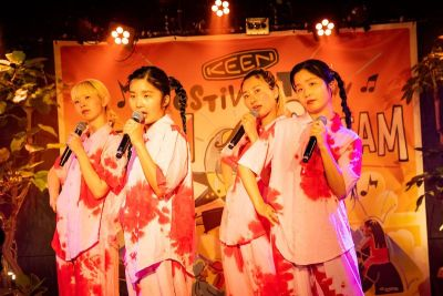 「Festival TV on KEENSTREAM」1周年特番にCHAIが登場!4/29(木) 18:00プレミア公開