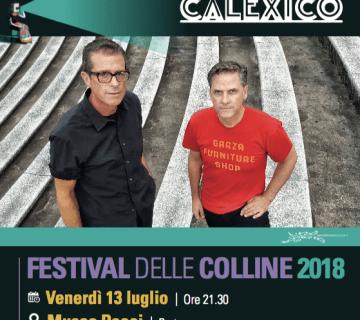 Calexico al Festival delle Colline 2018