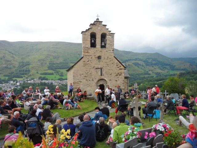 Le groupe Talin' en l'église de Ens en 2014