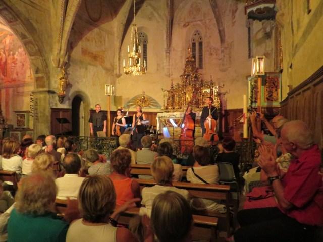 Hora Romanesca Bourisp Vallée d'Aure Festival des petites églises de montagne