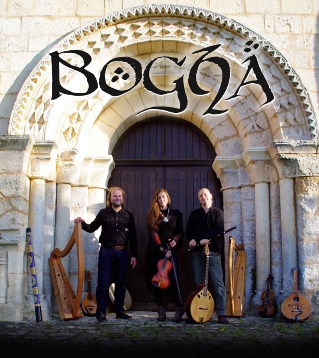 Le trio BOGHA - Dimitri Boekhoorn Chris Dawson Ciara Brennan