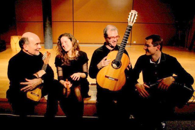 concert du quatuor buenos aires pour le festival des petites églises de montagne