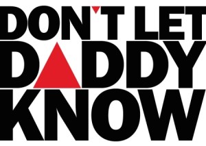 Don't Let Daddy Know logo