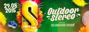 Outdoor stero festival cover
