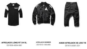 Afrojack Gstar raw items
