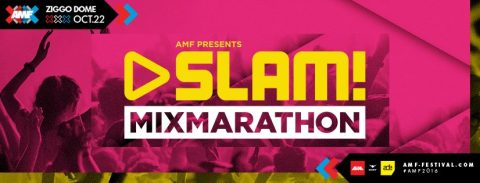 AMF presents SLAM cover