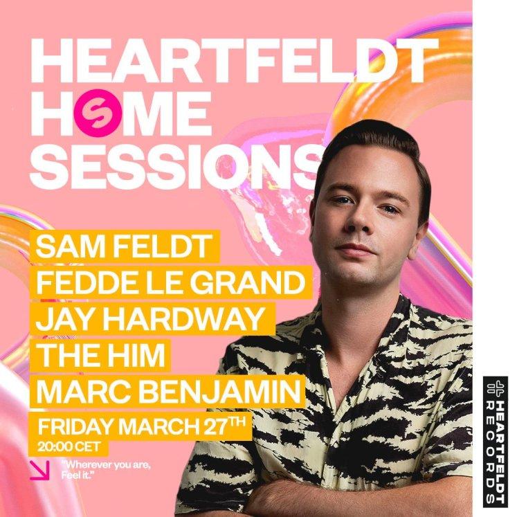 Timetable Heartfeldt Home Sessions