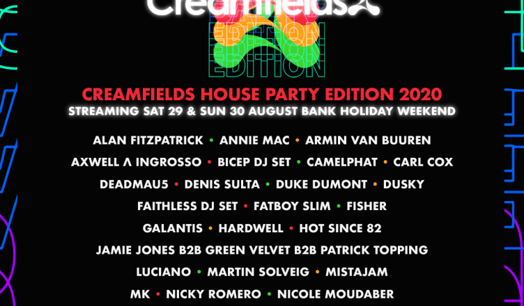 Creamfields House Party