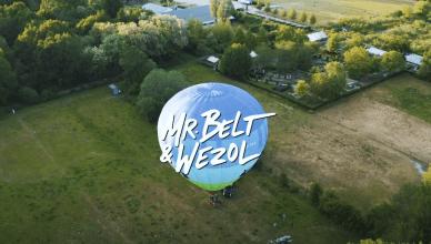 mr. belt & wezol hot air balloon