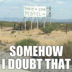a fancy hotel...