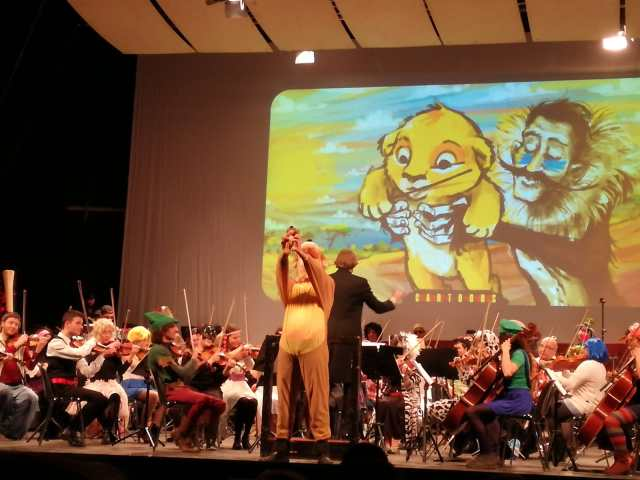 L'Orchestra Senzaspine ci conquista coi Cartoons