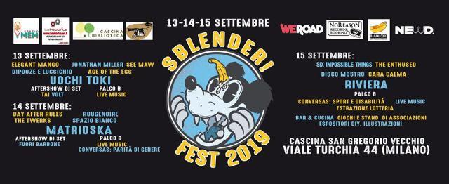 Sblender Fest! Cose estremamente belle a Milano