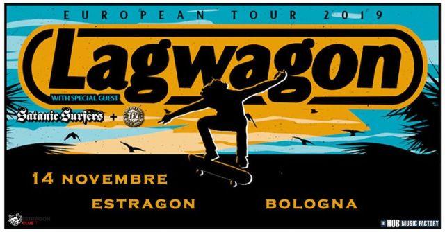 Il punk dei Lagwagon passa da Bologna coi Satanic Surfers