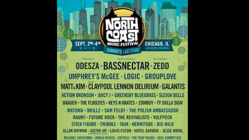 North Coast Finalizes a Happy Dance Worthy Lineup