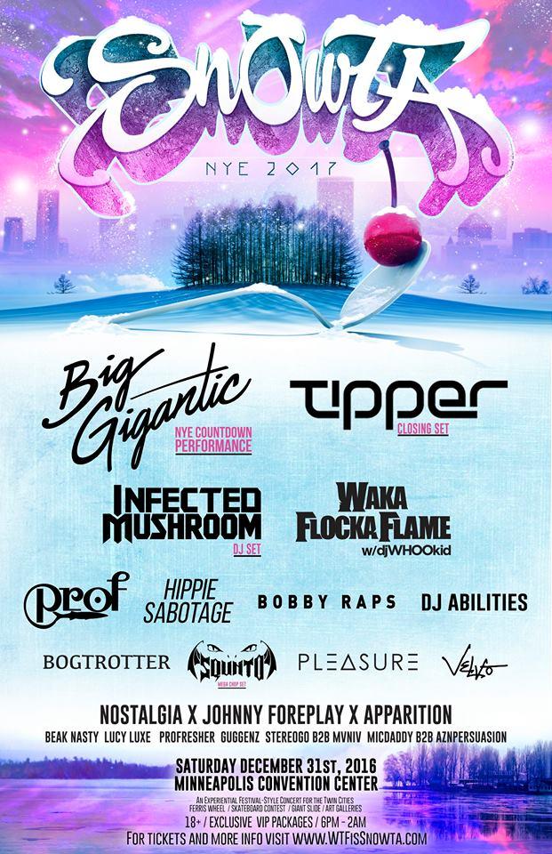 Start the New Year in Minneapolis at Snowta
