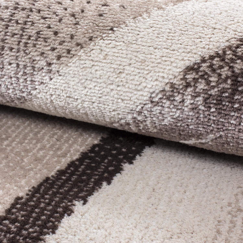 tapis tendance vintage brun taupe madison