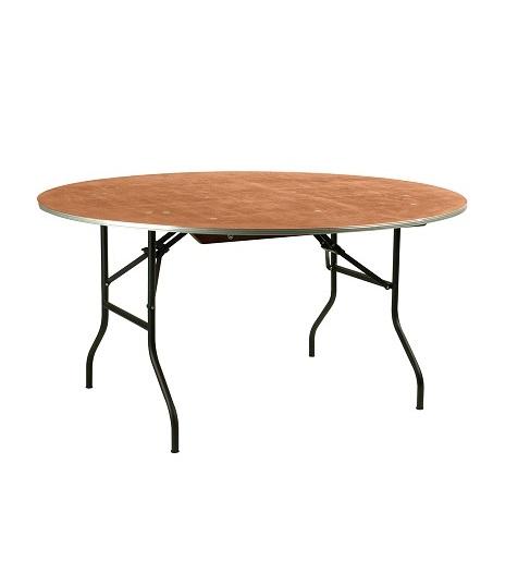 table de banquet ronde 10 personnes festivole