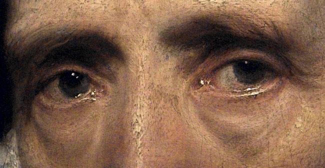 A festőtechnika, melyet Van Dyck használt
